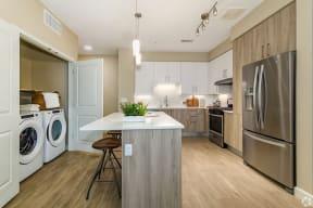 Kitchen and Laundry Room | The Core Natomas in Sacramento, CA