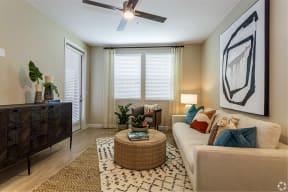 Living Room | The Core Natomas in Sacramento, CA