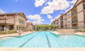 Portofino Senior Apartments Resort Style Swimming Pool