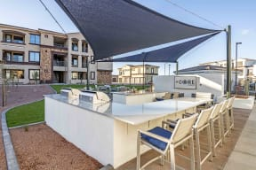 Outdoor Pavilion with Gas Kitchen & Bar