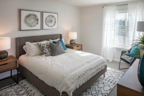 glacier run bedroom example