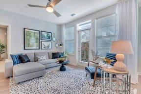 Living Room at Alta Croft, Charlotte