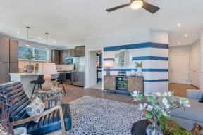 Spacious Living Room at Alta Croft, Charlotte, North Carolina