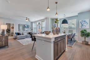Modern Kitchen at Alta Croft, Charlotte