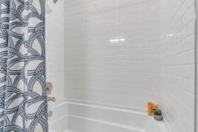 Bathroom With Bathtub at Alta Croft, Charlotte, NC, 28269