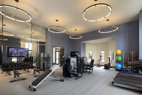 Enjoy your workout at our fully equipped fitness center at Windsor at Delray Beach, Delray Beach, FL