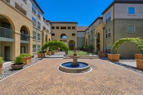 Beautiful Landscaping and Park-like Setting at Villa Montanaro,203 Coggins Drive Pleasant Hill, CA