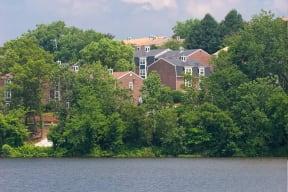 Mesmerizing View Of Hardy Pond at Windsor Village at Waltham, Waltham, Massachusetts