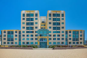 Beach Front Living with On-Site Management at Sea Castle, Santa Monica, California