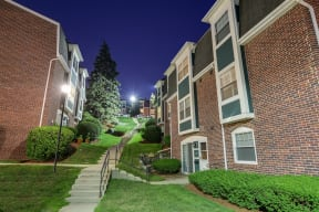 Lush Green Spaces and Outdoor Landscaping at Windsor Village at Waltham, Waltham, 02452