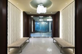 Welcoming Lobby at Windsor at Cambridge Park, Cambridge, 02140