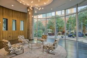 Beautifully Designed Lobby at Glass House by Windsor, Dallas, 75201