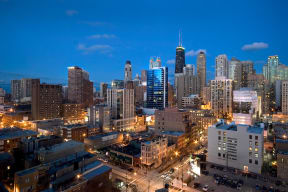 High Rise Luxury Apartments at Flair Tower, Illinois, 60654
