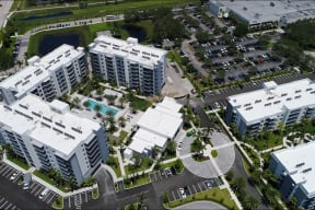 Modern, Resort-Style Community with Lush Landscaping at Allure by Windsor, Boca Raton, FL