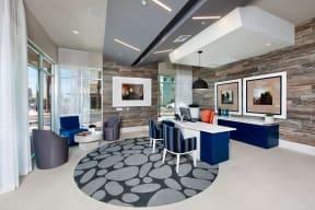 Modern Leasing Office at Boardwalk by Windsor, 7461 Edinger Ave., Huntington Beach