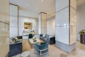 Elegant Roman and Williams Designed Lobby at The Aldyn, New York, New York