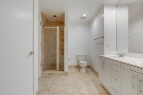 Large, Walk-In Shower at IO Piazza by Windsor, Arlington, 22206