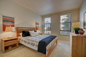 Master Bedroom With Great Views at Terraces at Paseo Colorado, Pasadena, CA
