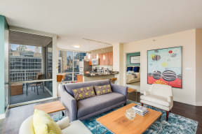 Numerous, Modern Floor Plans Available at Flair Tower, Chicago, Illinois