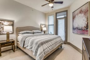 Spacious Bedrooms at The Monterey by Windsor, 3930 McKinney Avenue, TX