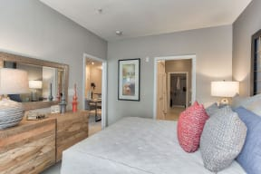 Master bedrooms with private bathrooms at The Ridgewood by Windsor, Fairfax, VA