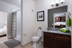 Soaking Tub in Bathroom at The Manhattan, 80202, CO