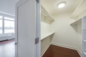 Large, Spacious Walk-in Closets at The Aldyn, New York, New York