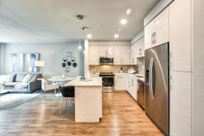 Kitchens with chef-inspired kitchens at Blu Harbor by Windsor, Redwood City, CA