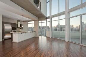 Spacious, Open-Concept Floor Plans at Glass House by Windsor, 2728 McKinnon Street, TX