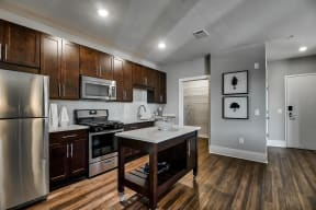 Expansive Kitchen with Stainless Steel Appliances at Morningside Atlanta by Windsor, 1845 Piedmont Ave NE, Atlanta