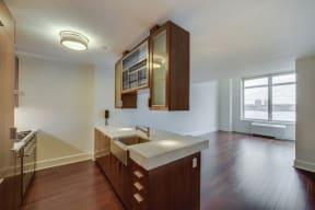Modern, Chef-Inspired Kitchens at The Aldyn, 60 Riverside Blvd., New York, NY 10069