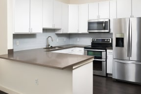 Renovated Interior Finishes at The Manhattan Tower and Lofts, Denver, Colorado