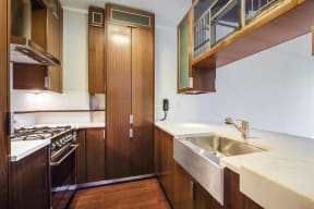Fully-Equipped Kitchen at The Aldyn, 60 Riverside Blvd., NY