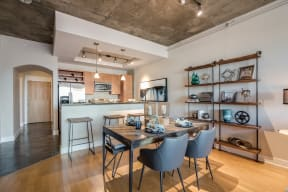 Stainless Steel Appliances and Custom Cherry Cabinetry at Crescent at Fells Point by Windsor, 951 Fell Street, MD