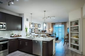 Open Concept Floor Plans at Windsor Oak Hill, 78735, TX