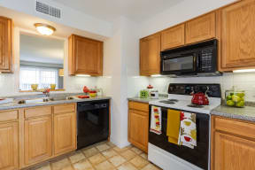 Fully-Equipped Kitchen With Dishwasher at Windsor Village at Waltham, 976 Lexington Street, Waltham