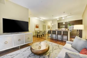 Breakfast Bars Provide Extra Seating at Windsor at Cambridge Park, 160 Cambridge Park Drive, Cambridge