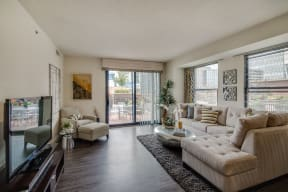 Patios & Balconies with Select Apartments at The Manhattan Tower and Lofts, Denver, 80202