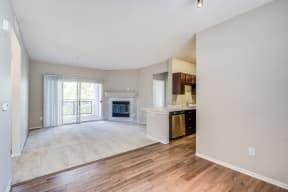 Spacious Living Room With Fireplace at Pavona Apartments, San Jose, 95112