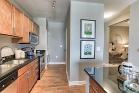 Fully-Equipped Kitchen at The Ridgewood by Windsor, Fairfax, Virginia