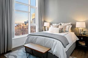 Panoramic Views at Waterside Place by Windsor, Boston, 02210