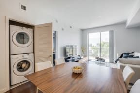 Full-Size Washer and Dryer at Allure by Windsor, 6750 Congress Avenue, FL