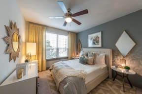Large Bedrooms That Fit King Size Beds at Windsor Old Fourth Ward, Atlanta, GA