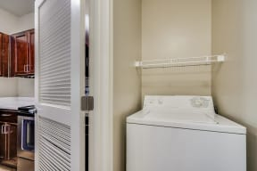 Full-Size Washer and Dryer at Pavona Apartments, California, 95112