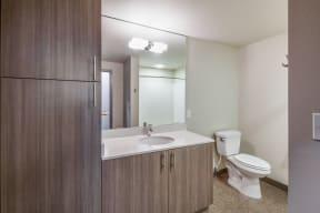 Spacious, Modern Bathrooms at Platform 14, 1030 NE Orenco Station Pkwy, OR
