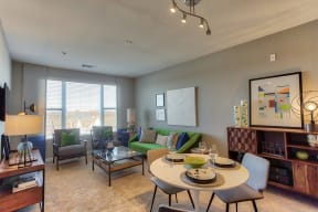 Large Windows Allow In Natural Light at The Ridgewood by Windsor, Fairfax, 22030
