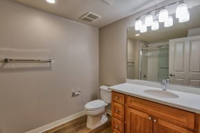 Modern Bathrooms at With Lots of Space at Villa Montanaro,203 Coggins Drive Pleasant Hill