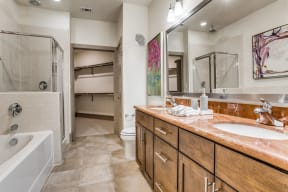 Large, Walk-In Closet at The Monterey by Windsor, 3930 McKinney Avenue, Dallas