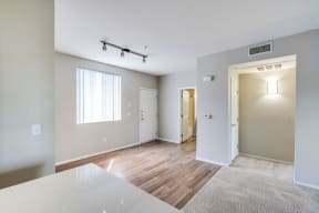 Wood-Style Flooring in Entry Way at Pavona Apartments, 95112, CA