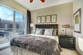 Ceiling Fan in Each Bedroom at Windsor at South Park by Windsor, Los Angeles, CA
